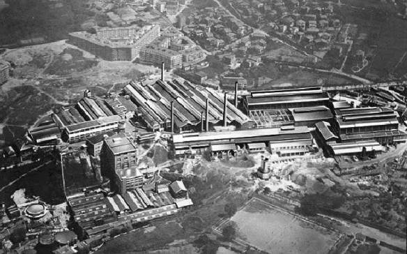 Fábrica de Etxebarria, en Begoña